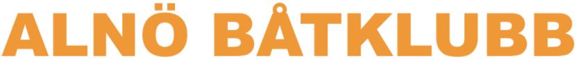 Alnö båtklubb logotyp